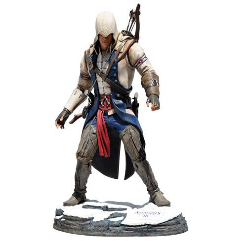Assassin's Creed 3 Connor Kenway Life-Size Statue - Attakus - Assassins Creed - Statues at Entertainment Earth
