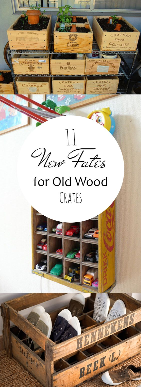DIY, Things To Do With Wooden Crates, DIY Home, Home Decor, Popular Pin, DIY Projects, DIY Tutorials, Repurpose Projects.