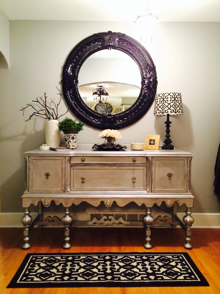 Silver Foyer Mirror : Best images about foyer on pinterest simple furniture