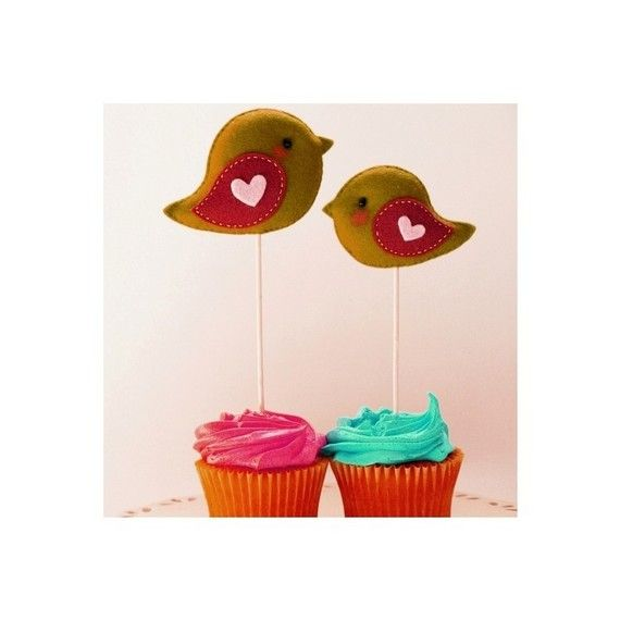 baby shower bird theme on pinterest cupcake toppers cute birds and
