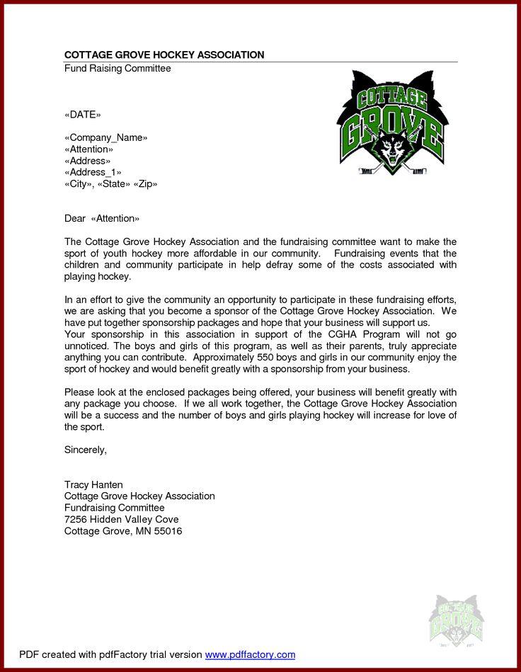 25+ ide terbaik Sample of proposal letter di Pinterest Saran - example sponsorship letter