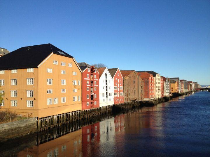 Trondheim in Sør-Trøndelag