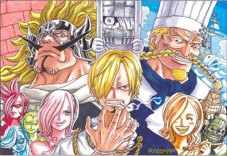 one piece. vinsmoke. family