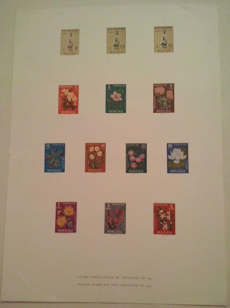 "ORIGINAL VINTAGE ""MISSIONARY SACRED ART EXHIBITION"" and ""MACAU FLOWERS"" BROCHURE…"