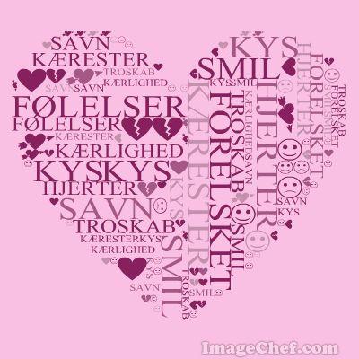 Skolestuen: ImageChef Word Mosaic - Lav flotte ordcollager - bestem selv ordene samt form og farver på collagen (inkl. dansk vejledning)