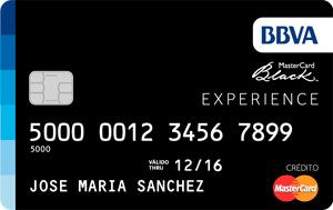 Tarjeta BBVA MasterCard Black Personas   Paraguay