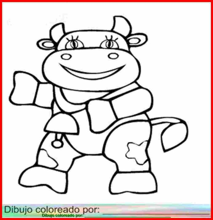 Vacas Imprimir Colorear Pintar Decorar on Nursery Rhymes Worksheets For Kindergarten S