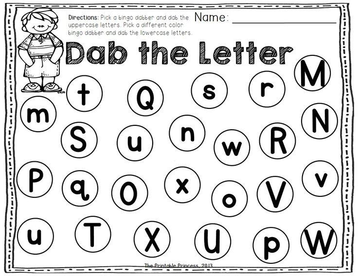 bingo dauber letters
