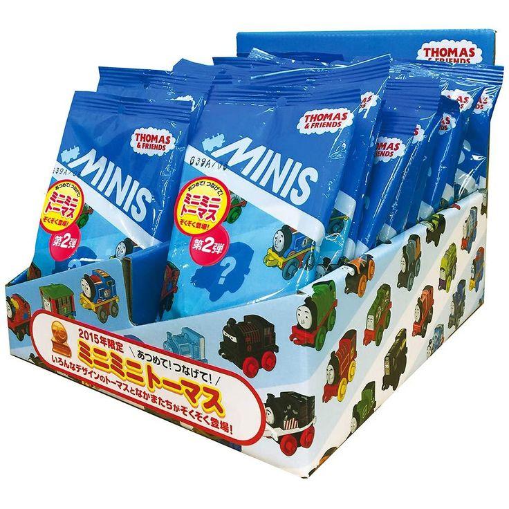 2015限定 ミニミニトーマス 第2弾24個(BOX)【送料無料】-公式 トイザらス オンラインストア   おもちゃ通販