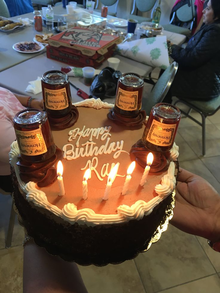 Chocolate Cake With Alcohol