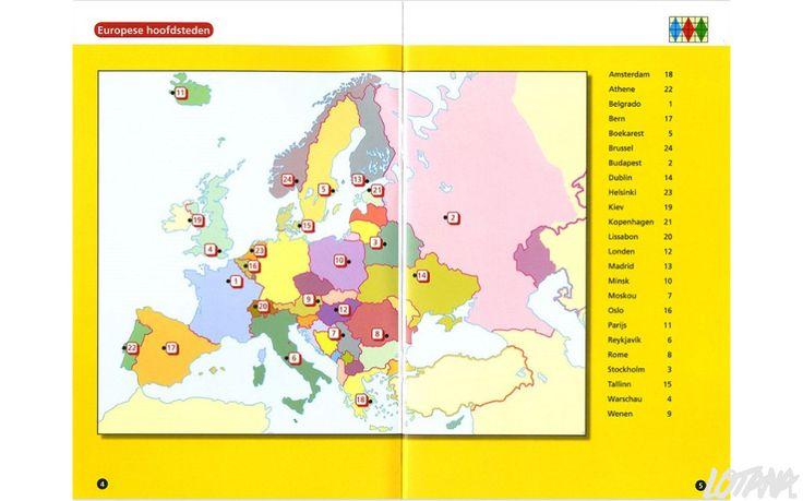 Maxi Loco boekje Topografie Europa (9-12 jaar) - Maxi Loco - Lotana