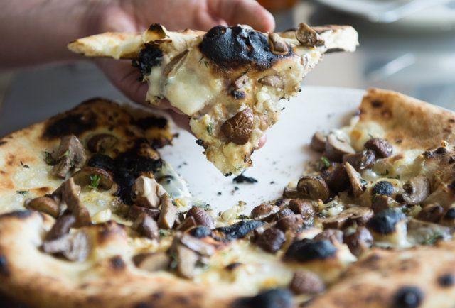 Mushroom pizza the pizza bar just got higher in lower queen anne