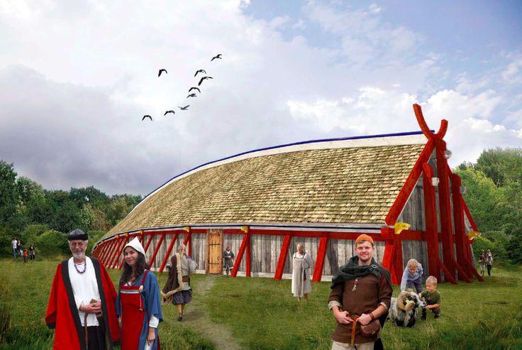 Historisk vikingehal bliver genskabt i Lejre | Videnskab.dk