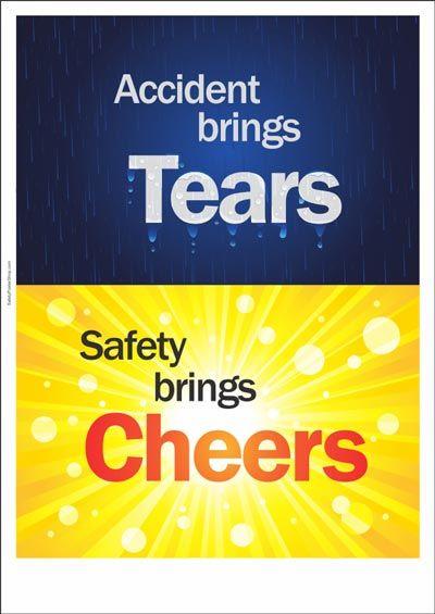Safety brings cheers #SafetyFirst
