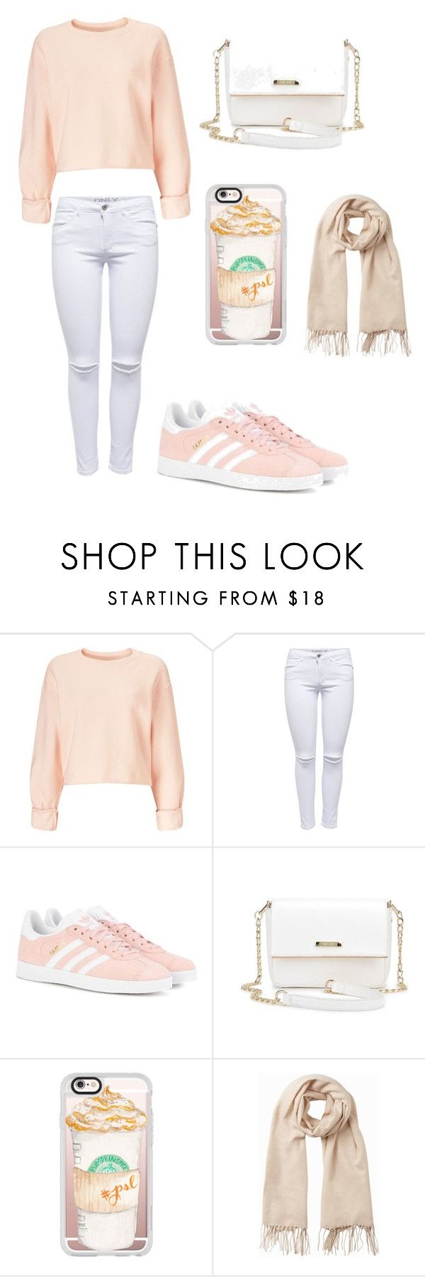 """Untitled #115"" by merria-zion on Polyvore featuring Miss Selfridge, adidas Originals, Casetify and Vero Moda"