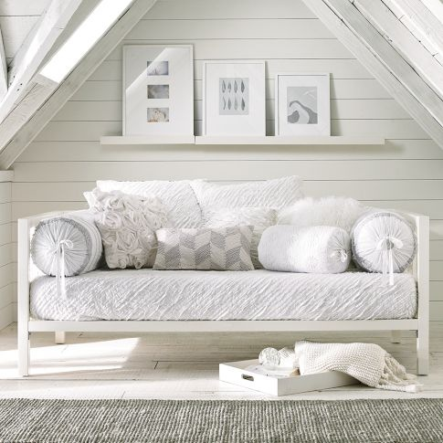 White furniture and white accessories are growing in popularity! White items are being used around the home to create a lighter feel and make a space look larger.