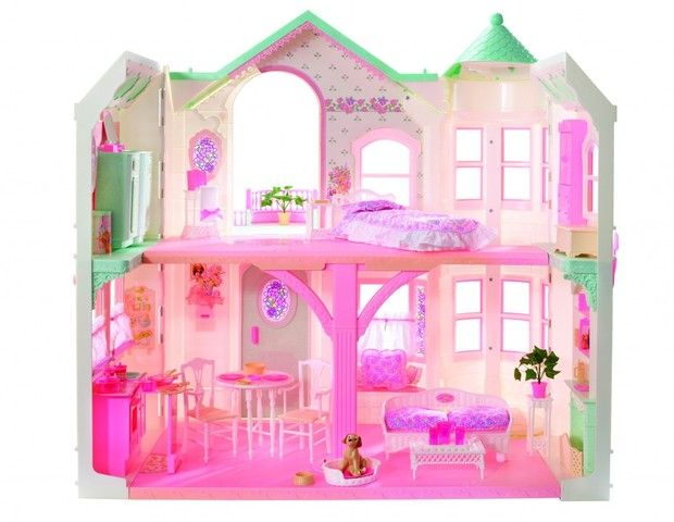 Barbie Deluxe Dreamhouse, 1998 (Foto: Divulgação)