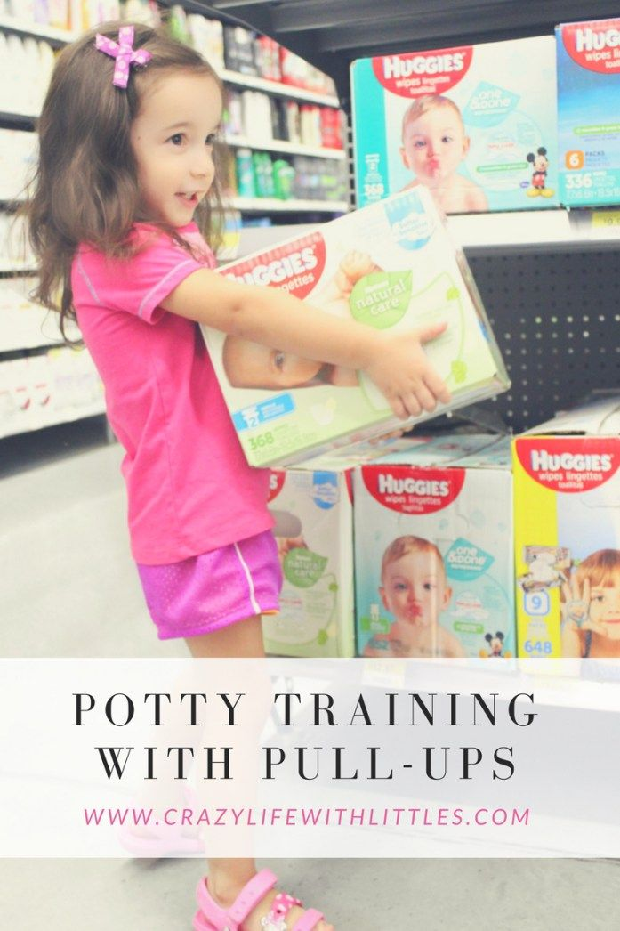 How to Potty Train Toddlers with Pull-Ups