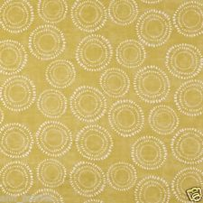 PRESTIGIOUS TEXTILES 100% COTTON CURTAIN FABRIC 'EMBANKMENT' Saffron  p/m