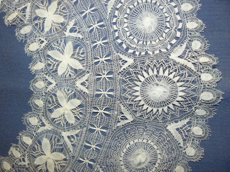 Edwardian bobbin lace