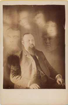 Cabinet Card Spirit Photograph