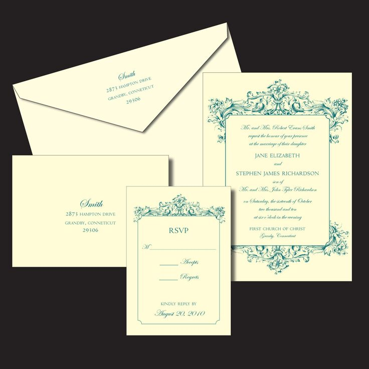 26 best Weddin invitation card images on Pinterest Wedding