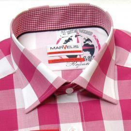 elegant shirt with bavarian pattern