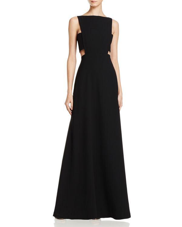 Jill Jill Stuart Cutout Waist Gown