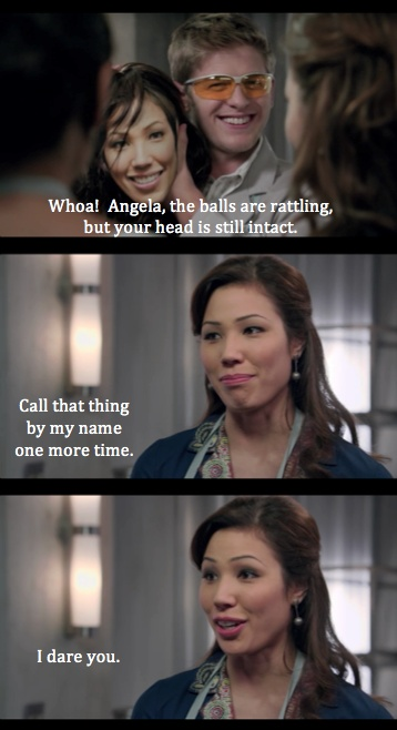 Angela is so great :)