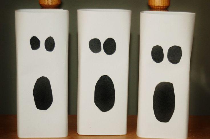 Easy Halloween Ghost Home Decor | Halloween diy, Halloween ...