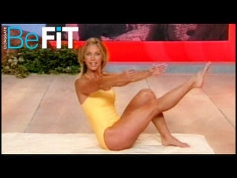 Denise Austin Pilates Mat Workout Based On J H Pilates