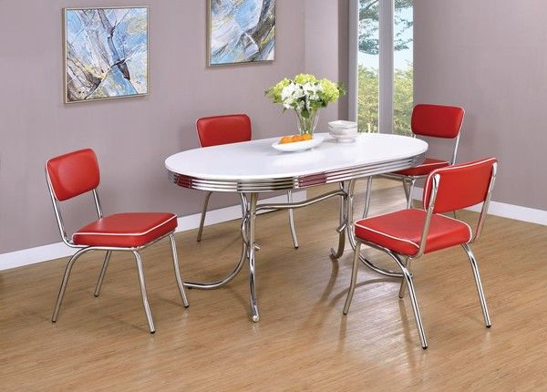 17++ Dining set red Top