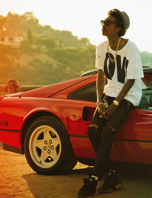 Zoom Photo  Wiz Khalifa - Rapper