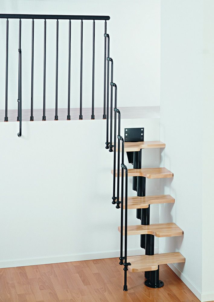 Karina Space Saving Staircase Kit From Arke Inc In Black With