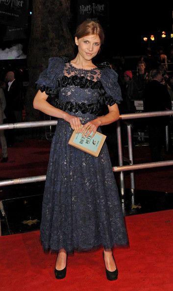 "Clemence Poesy - ""Harry Potter"" London Premiere"