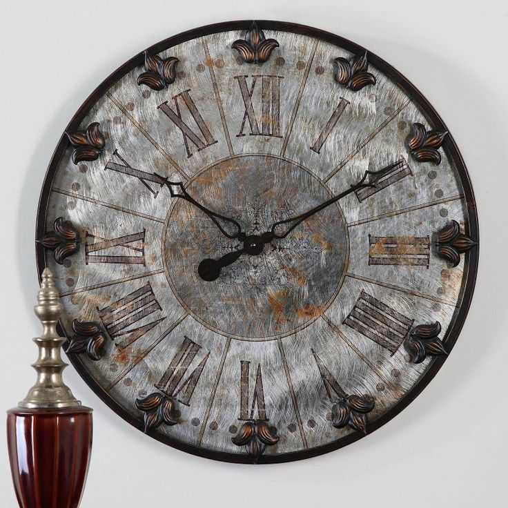 Uttermost Artemis Antique Wall Clock - 6643