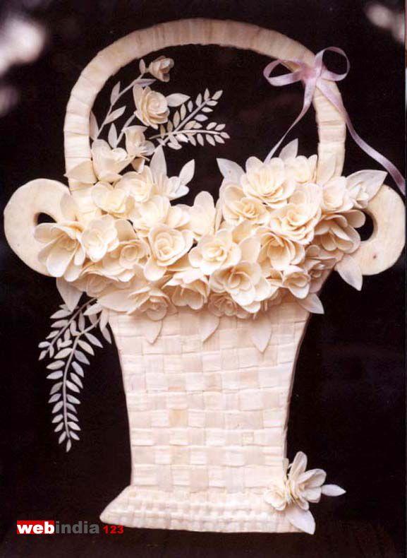 Solawood Flower Basket