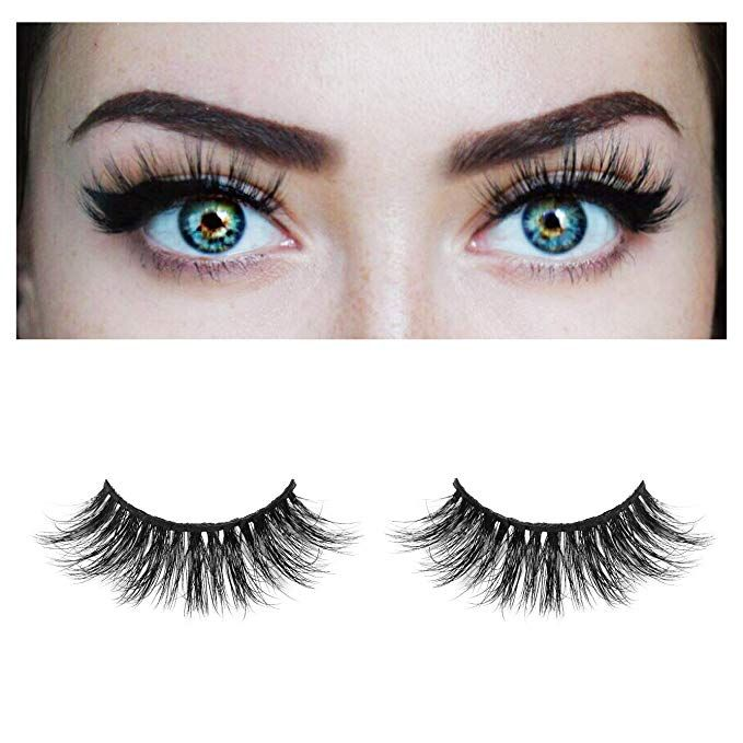 fd3a9503967 BEPHOLAN False Eyelashes| 3D Mink Lashes| Dramatic Look and Feel| 100%  Siberian