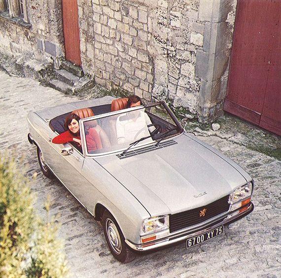 Peugeot 304 Cabriolet.