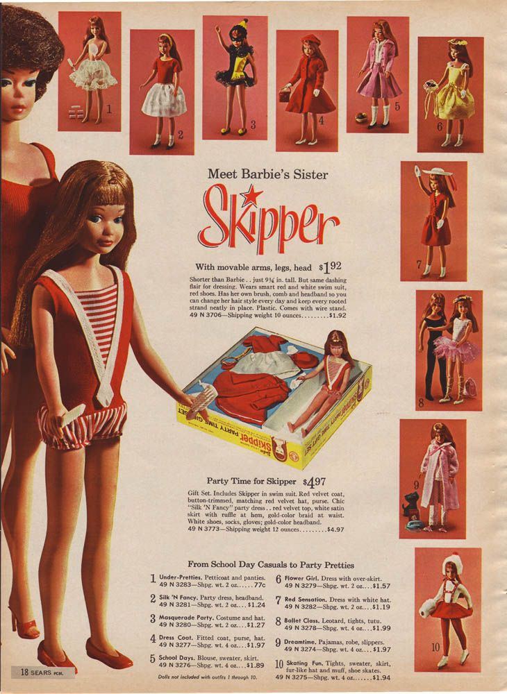 1970s Sears Christmas Catalog - Skipper
