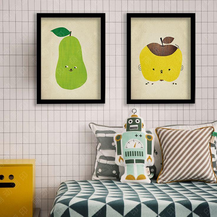 Стены Холст фрукты Живопись Плакаты декоративная настенная живопись Печать на…