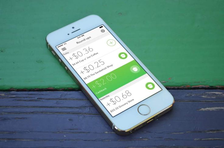 The new Acorns app rounds up card purchases and invests the difference for growth, with no minimums and low fees.