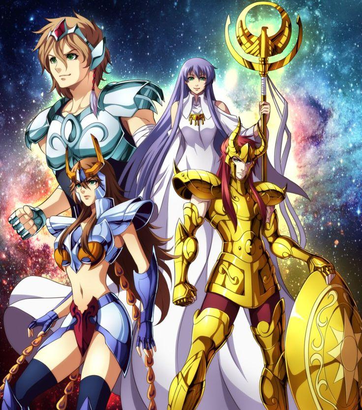 SAINT SEIYA OC COMMISSION - The light of Athena by DarkLordLuzifer