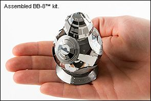 Star Wars™ BB-8™ Metal Model Kit - Lee Valley Tools