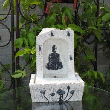 LED Buddha Indoor Tabletop Fountain