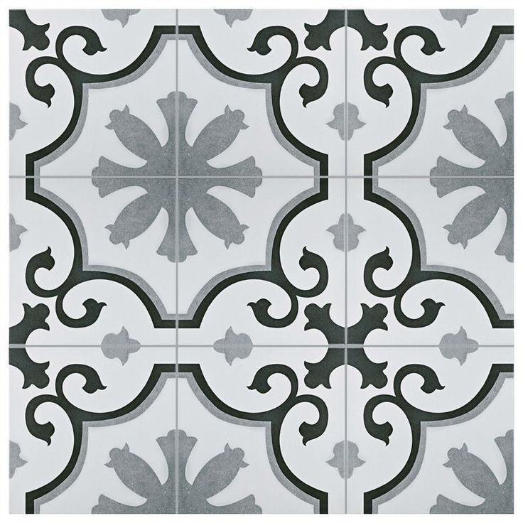 Nouvelle Classic 12 X 12 Ceramic Field Tile Patterned Tile Backsplash Tile Patterns Wall Tiles