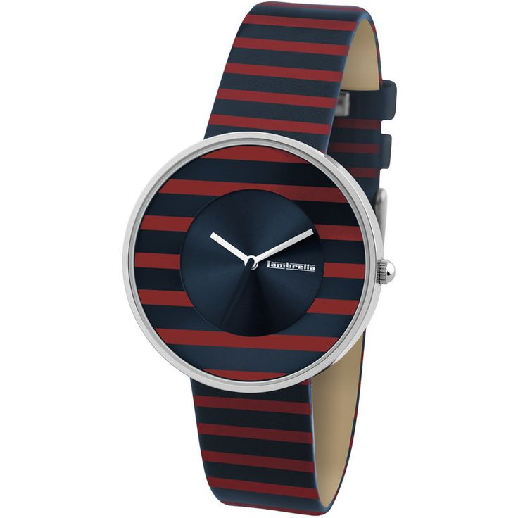 Lambretta Cielo Stripes Watch | Red 2105RED