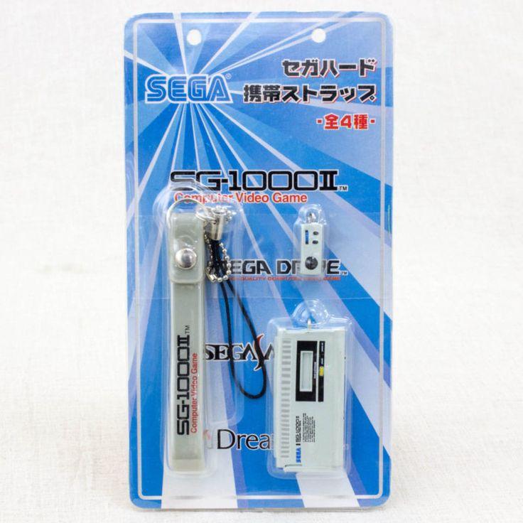 RARE!! SEGA Game History Miniature Figure Strap SG-1000 II JAPAN
