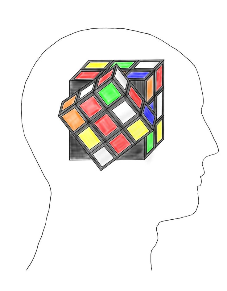 Rubik's Mind by Thezephyr81.deviantart.com on @deviantART