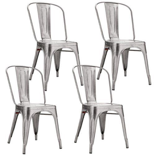Find This Pin And More On Kitchen Chairs    Silver.